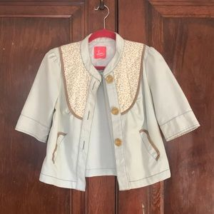 Urban Outfitters Lux cute jacket, barely worn